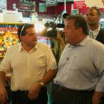 NJ Governor Chris Christie at Silverball Museum Asbury Park NJ